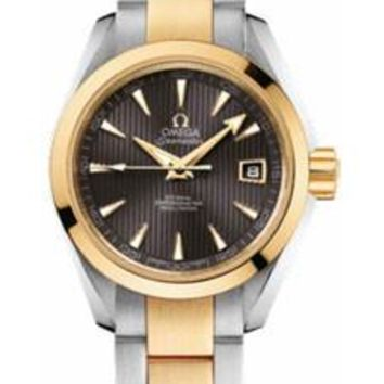 Omega - Seamaster Aqua Terra 150 M Co-Axial 30 mm - Steel And Yellow Gold