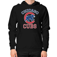 Cubs Baseball Team Chicago Allsex, Chicago cubs world series Hoodie (on man)