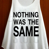 Nothing Was the Same Tank Top Drake Singer Hip hop Rapper Top Fashion Vest shirts Singlet Vest Tee Tunic Size S M