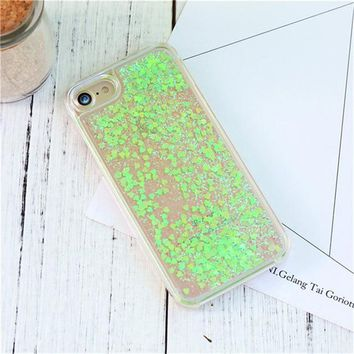 Cute Shiny Case For iPhone 6 6s 7 Plus 5 5s SE Quicksand Bling Sequin Phone Cover For iPhone 6 6s 7 8 Plus 5 5S