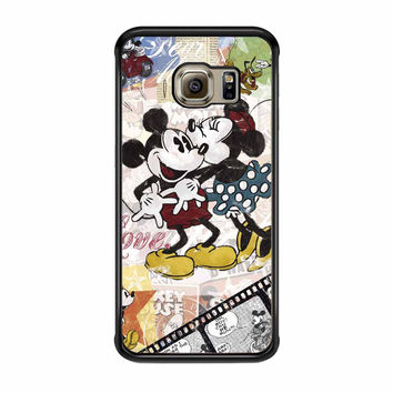 Mickey Mouse And Minnie Mouse Disney Samsung Galaxy S6 Edge Case