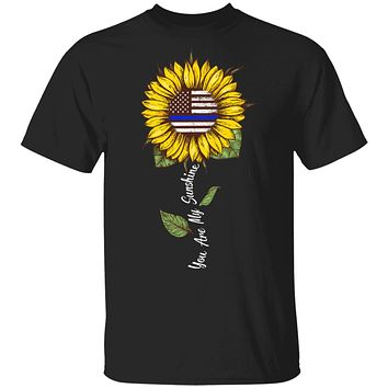 You Are My Sunshine Sunflower Female Police Officer