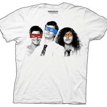 Workaholics Three Ninjas Licensed Adult Tee T-Shirt S-2XL