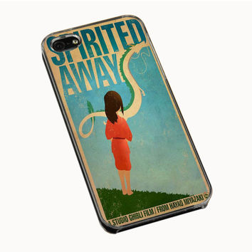 Spirited Away Retro Poster IPhone 5 | 5S 5C 4 | 4S Case