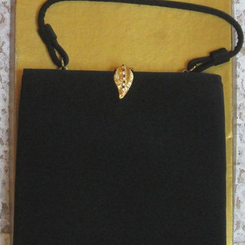 "1950's Black ""After Five"" Handbag"