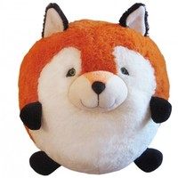 "Squishable Round Stuffed Animals - 15"" Fox 713520"