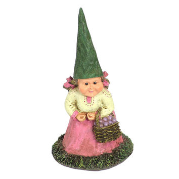 Isabella the Lady Garden Gnome