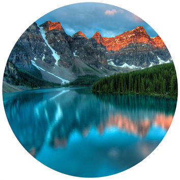 Lakeside Circle Wall Decal