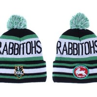 PEAPON South Sydney Rabbitohs Beanies New Era NRL Football Hat