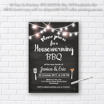 housewarming invitation,  housewarming bbq, New house home sweet home Invitation Card | We have moved Invitation Card Design - card 554