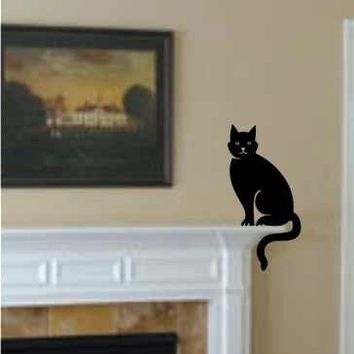 Sitting Cat - Wall Art Decals Graphics Stickers