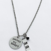 United We Shred Charm Necklace - Customize Your Charm