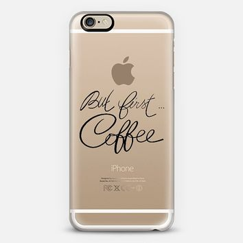 But first ... coffee iPhone 6 case by Psychae | Casetify