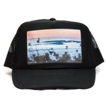 Perfect Wave Trucker Hat | Hi Xposure Clothing and Photography