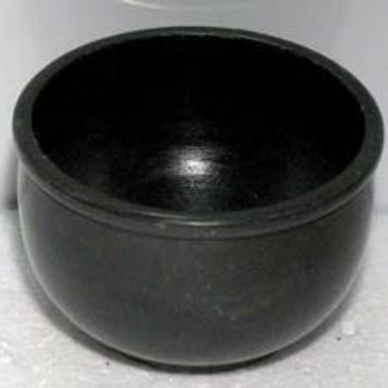 Black Stone Scrying Bowl 3""