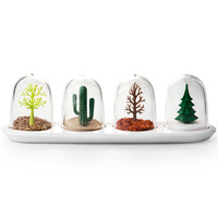 I liked this design on #Fab. Four Seasons Spice Shakers
