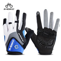 INBIKE Full Finger Cycling Gloves Bike Bicycle Gloves GEL Padded MTB Gloves Bike Accessories IF239