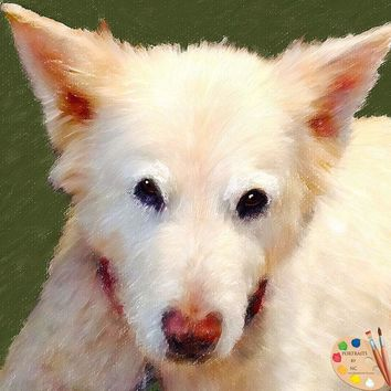 Dog Portrait from Photo 432