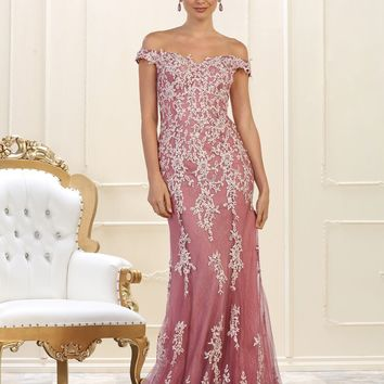 Long Plus Size Prom Dress Formal Gown
