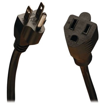 TRIPP LITE P022-015 Standard Power Extension Cord, 15ft