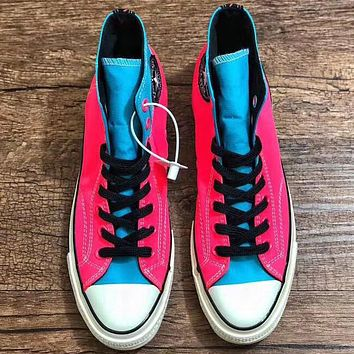 Trendsetter Converse Chuck 1970s Women Fashion Casual High-Top Old Skool Shoes