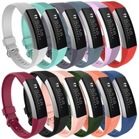 12 Replacement Silicone Wrist Band Strap With Buckle For Fitbit Alta HR Alta [11902710799]