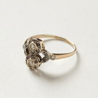 Vintage Stoneflower Ring by shopFiligree Gold One Size Jewelry