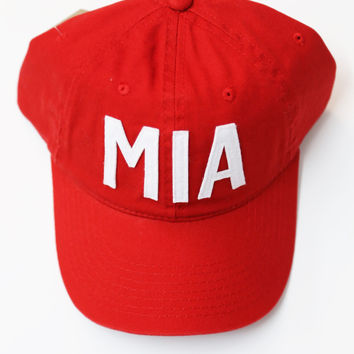 Aviate Ball Cap MIA {Red}