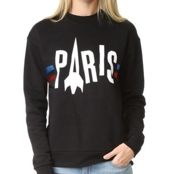 Paris Rocket Boyfriend Sweatshirt