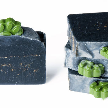 Husky Paw Rising-Activated Charcoal body soap