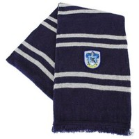 Harry Potter Ravenclaw Scarf - Midnight Blue and Grey:Amazon:Clothing