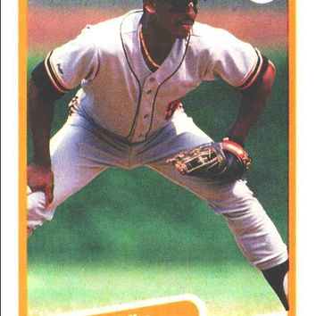 1990 Fleer JOSE URIBE, #74 Near Mint+, Super-Hot Baseball Card!! Giants, RARE