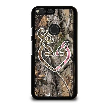 CAMO BROWNING LOVE-PHONE 5 Google Pixel XL Case Cover