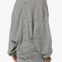 Y / Project Mohair wool-blend Knitted Cardigan - Farfetch