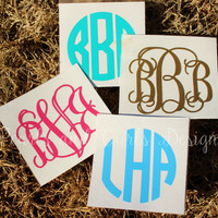 SALE**  3 inch Monogram Decal!! *-Limited Time-*