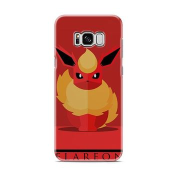 Flareon Pokemon Go Samsung Galaxy S8 | Galaxy S8 Plus Case