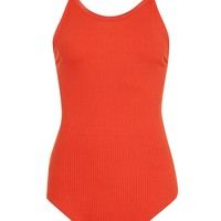 Multi Strap Ribbed Body | Topshop
