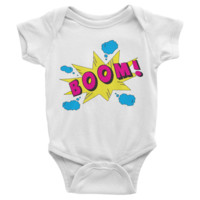BOOM! Infant short sleeve Onesuit