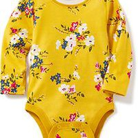 Patterned Bodysuit for Baby   Old Navy