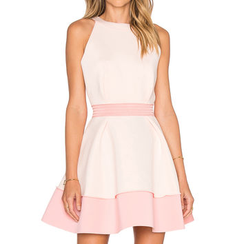 ELLIATT Splendor Dress in Blush and Melon