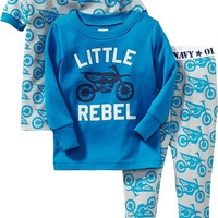 Printed 3-Piece PJ Sets for Baby