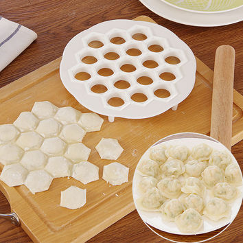 Creative fast Pack dumpling machine Home plastic 21cm Dough Press Dumpling Pie Ravioli Mold Mould Maker Cooking Pastry tools