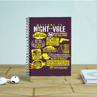 Welcome To Night Vale Photo Notebook Auroid
