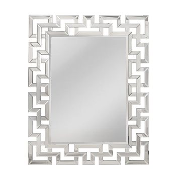 Hoxley Greek Key Mirror
