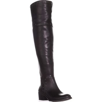 Vince Camuto Bestan Wide Calf Over-The-Knee Boots, Black, 6 US / 36 EU
