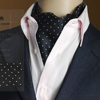 2017 Winter New Arrival 100% Silk Luxury Double-faced Paisley Printed Cravat Men's Long Scarf with Giftbox