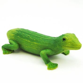 Home Grown Gherkin Gecko Figurine