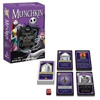 The Nightmare Before Christmas Munchkin Card Game