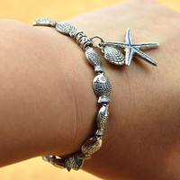 Handmade Bracelet:Day Dreaming on the Beach