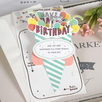 Pop Up Birthday 3D Greeting Card